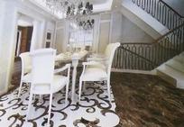 豪华餐厅装饰设计效果图