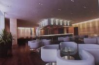 豪华酒吧3D模型图
