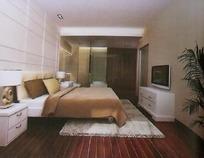 豪华卧室设计3D模型图