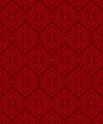 红色吉祥的四方连续纹样底图JPG