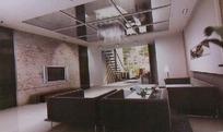 简约客厅装饰设计效果图