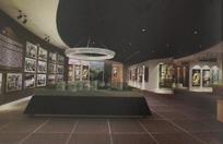 摄影艺术博物馆3D模型图