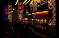 时尚创意酒吧设计效果图