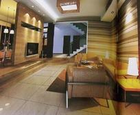 时尚客厅装饰设计效果图