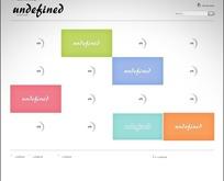 欧美简洁创意公司网页模板