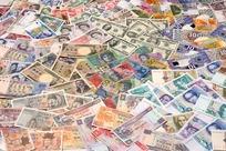 世界各国各式各样的纸币图片