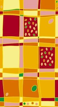 抽象几何色块背景PSD素材