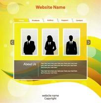 商务网页设计模板