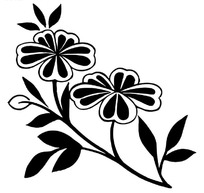 矢量花卉图案