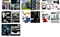 室内装修和家具构成的多幅图片