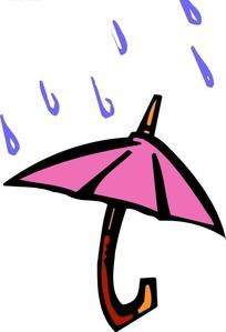 雨滴打在雨伞上下载 1741293