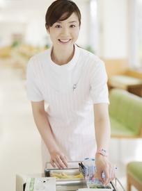 微笑的女护士