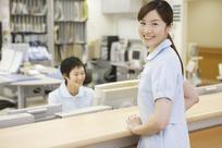 微笑的美女护士