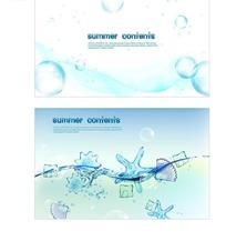 酷似水晶果冻的水泡贝壳海星设计