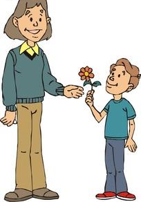 男朋友送花给女朋友图片