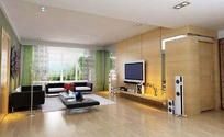 豪华大气客厅装饰效果图3D模板素材