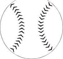 简笔画垒球矢量图_体育运动健美操竞技单人男子图片