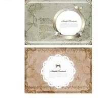 古朴典雅的婚纱模板