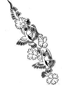 中国古典花鸟图