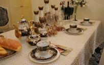 欧式风格餐桌摄影