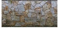 石头筑成的矮墙