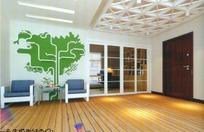 时尚简约风格客厅装饰3D模型素材