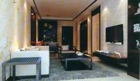 时尚简约风格客厅装饰设计3D模型素材