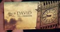 david的名片设计效果图