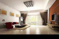 豪华大气大型客厅装饰效果图