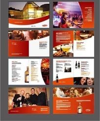 红色时尚企业宣16页传册设计