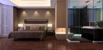 华贵典雅风格卧室装饰效果图
