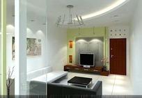 温馨典雅风格客厅装饰效果图