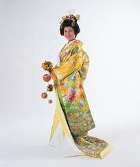 日本和服妇女