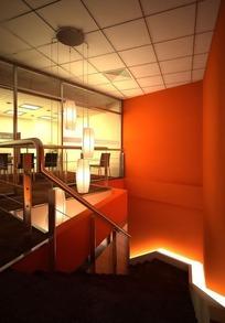 红色风情酒吧3D效果图