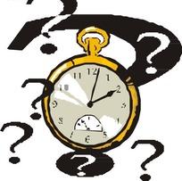 秒表和问号