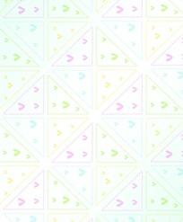 三角形图案构成的卡通背景底纹