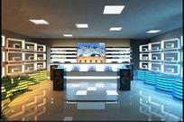 电器产品展示空间设计效果图
