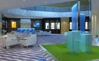 静谧雅致酒吧3D效果图
