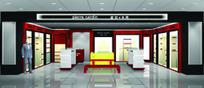 品牌服装店展厅设计3D模图