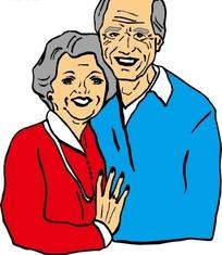 恩爱的老夫妻