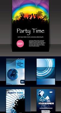 公司宣传画册封面设计素材