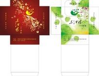东江情酒店抽纸盒设计