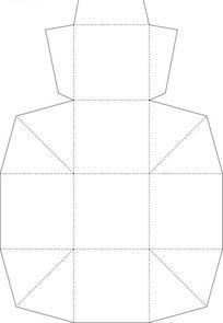 包装盒型参考刀模