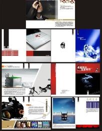 创意广告公司宣传画册模板