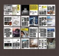 欧美家装材料EPS画册设计