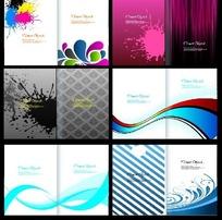 时尚画册封面设计模板