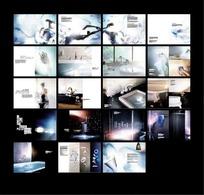 欧美卫浴宣传画册设计