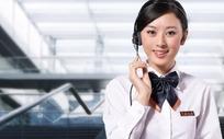 中国税务美女客服
