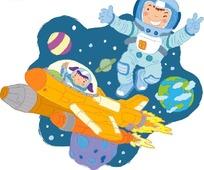 在宇宙飞船里会发生什么有趣的事图片