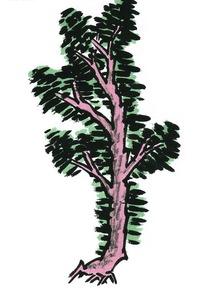 池塘边的树丛与阁楼图片,高清大图 园林景观素材